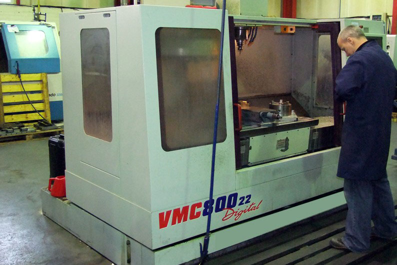 Bridgeport VMC 800 CNC