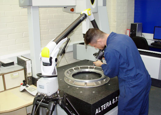 Laser Scanning and Inspection - Holbro Engineering Ltd